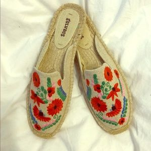 Embroidered Soludos Espadrilles